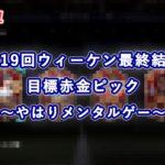 【FIFA21】第19回ウィーケン最終結果&目標赤金ピック ~やはりメンタルゲー~